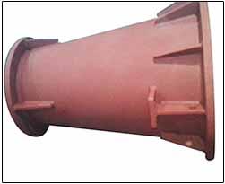 1600-800NB Taper Pipe